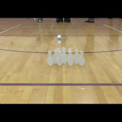 sphero-bowling