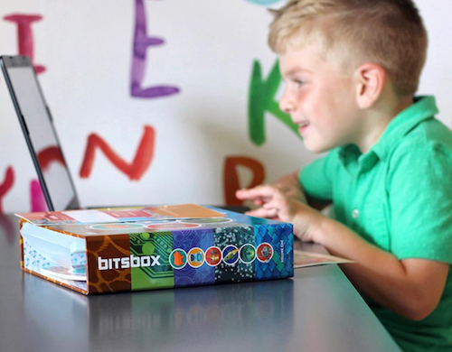 coding subscription box for kids - a new programming project every month