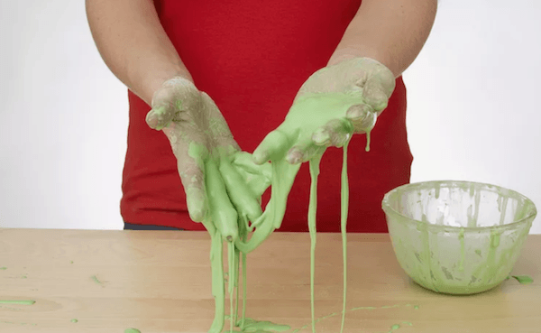 image of homemade slime