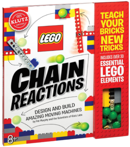 Klutz Lego Chain Reactions Science & Building Kit