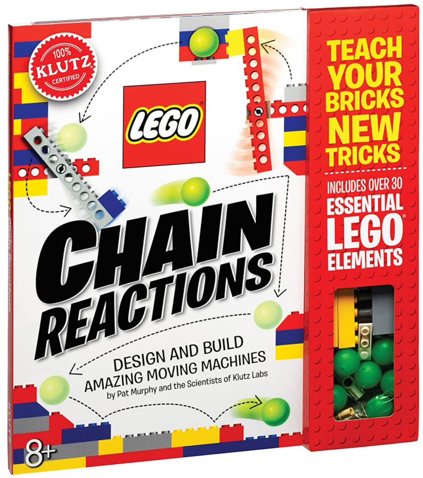 Klutz Lego Chain Reactions Science & Building Kit stem toy deal