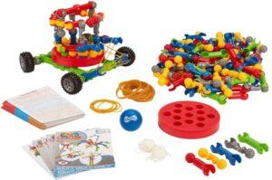 ZOOB BuilderZ S.T.E.M. Challenge Moving Building Modeling System, 220 Piece Kids Construction Set