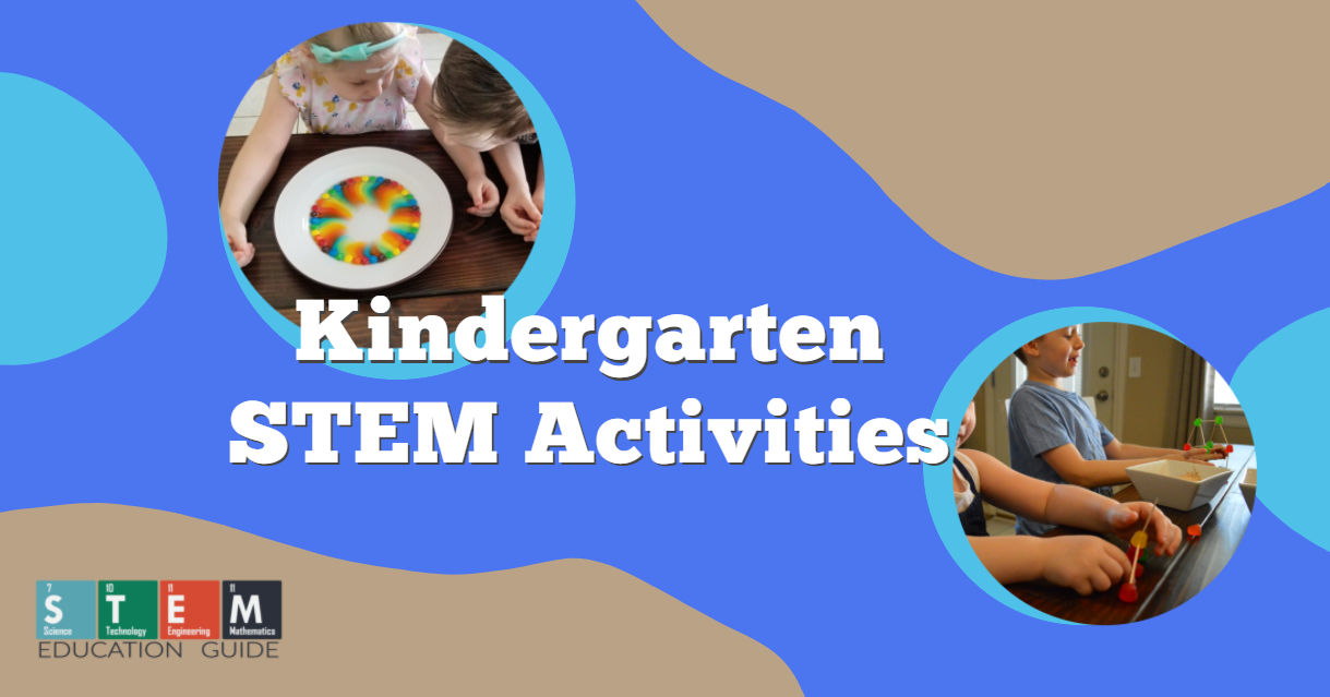 Kindergarten STEM Activities 4 and 5 year olds