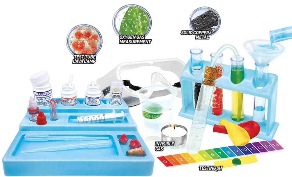 WILD! Science - WS90XL Test Tube Chemistry Lab