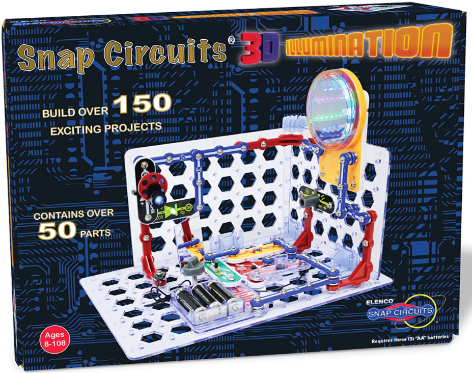 Snap Circuits 3D Illumination Electronics Exploration Kit