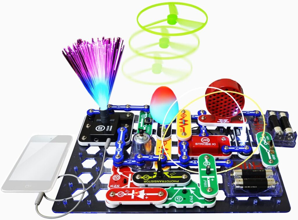 snap circuits stem toys