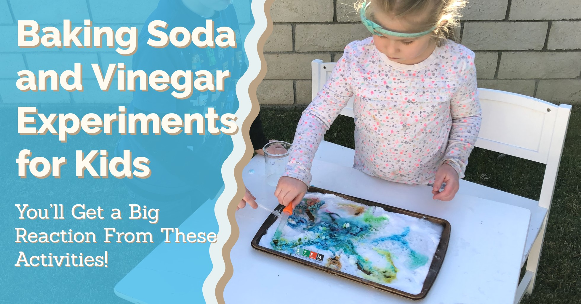 Baking Soda and Vinegar Chemistry Experiments for Kids