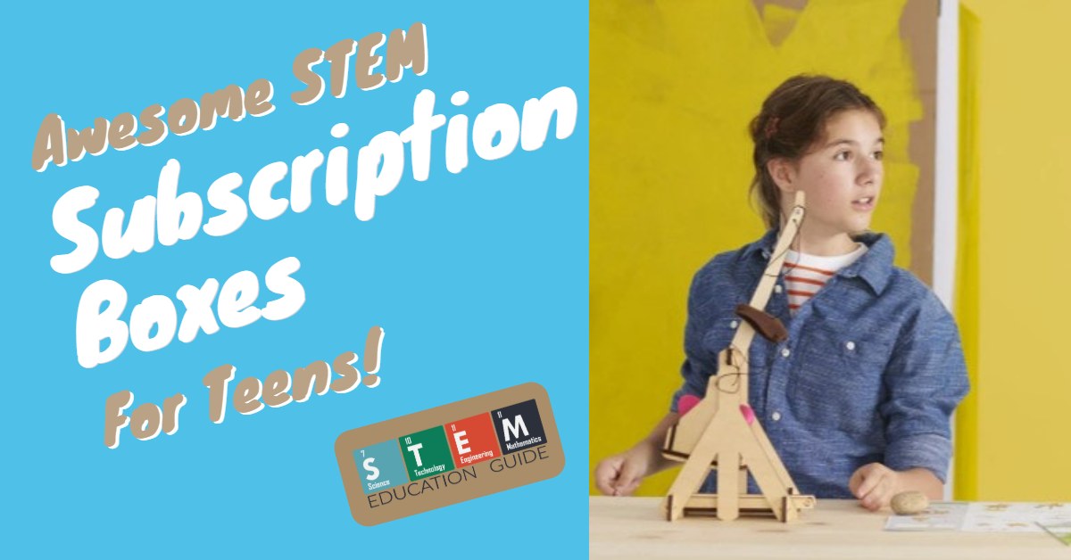 Educational subscription boxes for teens