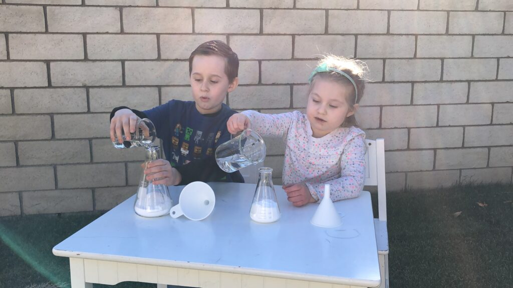 kids science experiments with chemicals