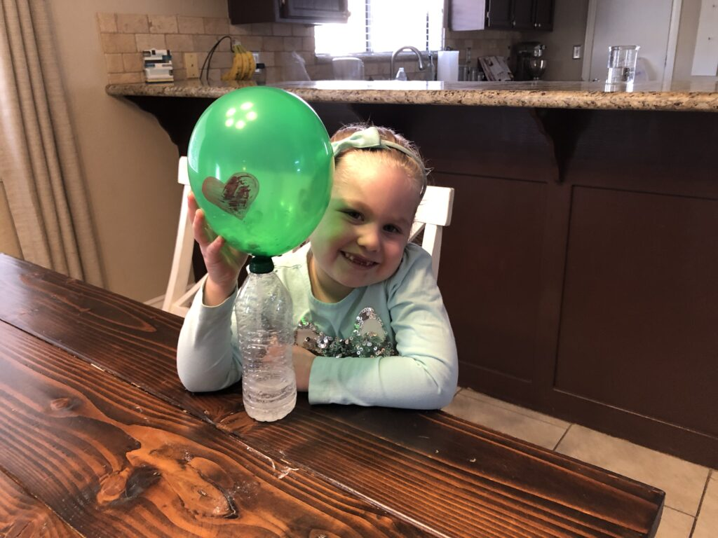 fun kids science balloon experiment