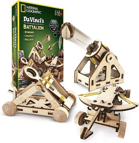 National Geographic Da Vinci DIY Science and Engineering Construction Kit