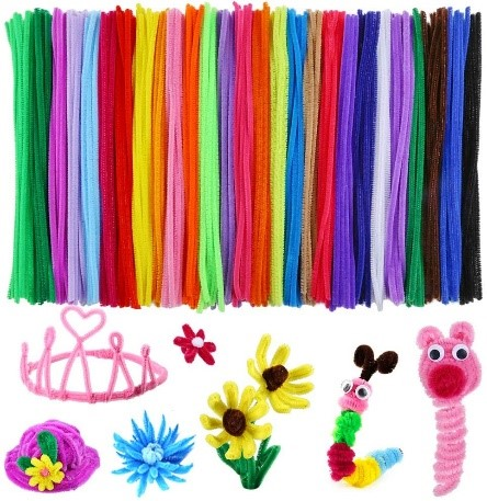 Pipe Cleaners for kids activities