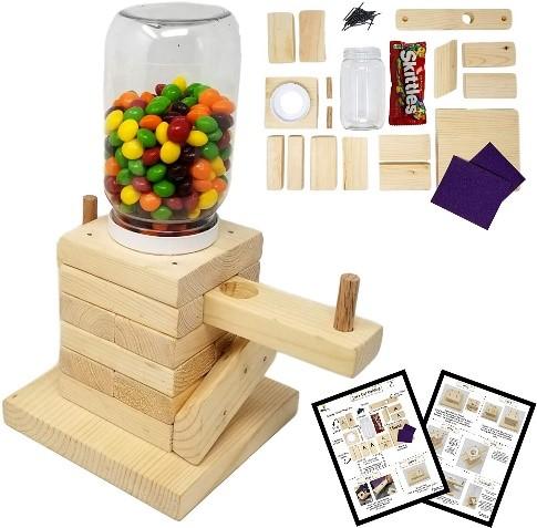SparkJump DIY Wood Building Kit