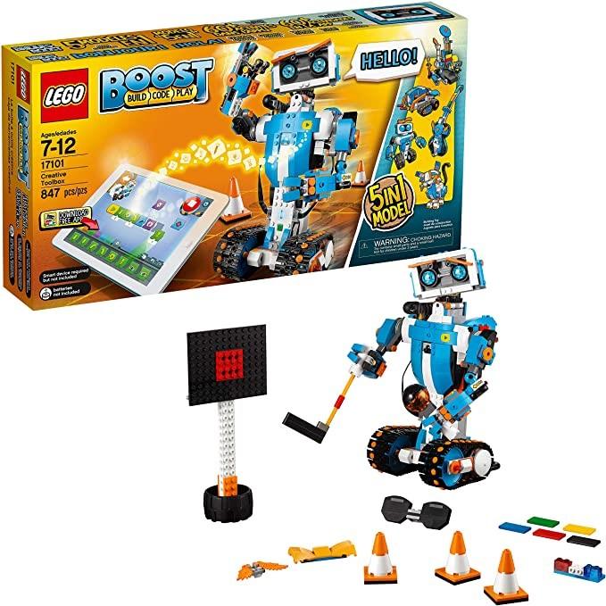 LEGO Boost Creative Toolbox Fun Robot Building Set