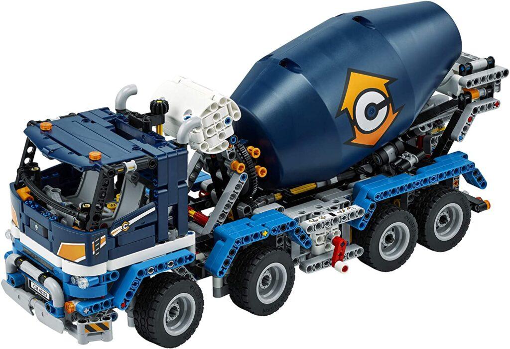 Lego concrete mixer truck