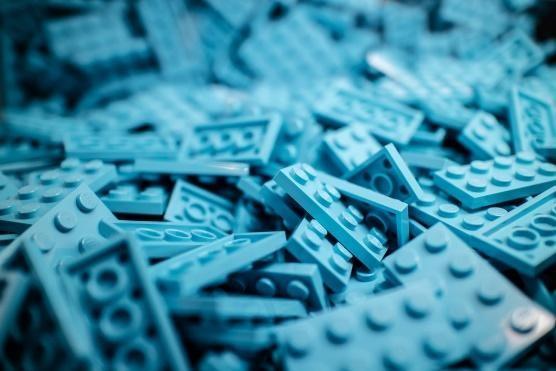 Variety of LEGOs
