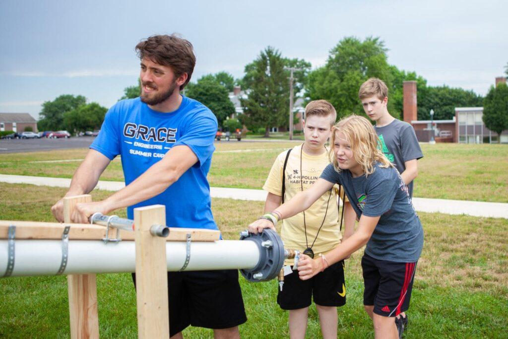 kids building engineering
