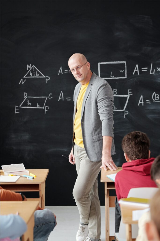 A math class