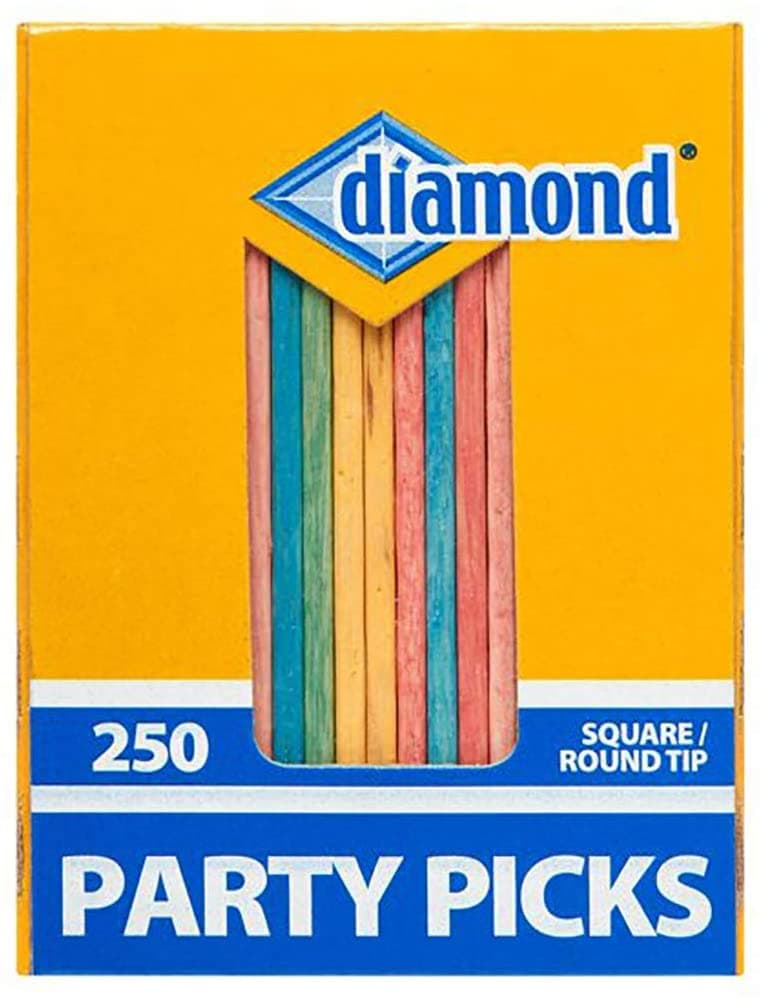 Colored Party Toothpicks