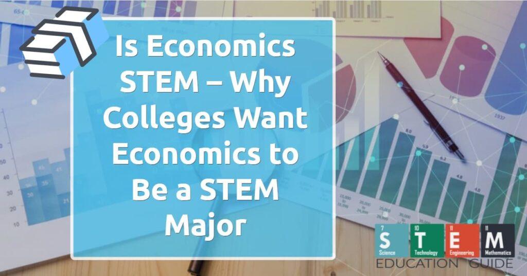 Is Economics STEM