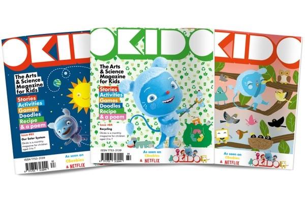 OKIDO Activity Book Subscription