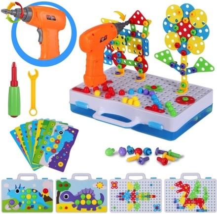 SUPSTEM Drill Puzzle STEM Building Toys