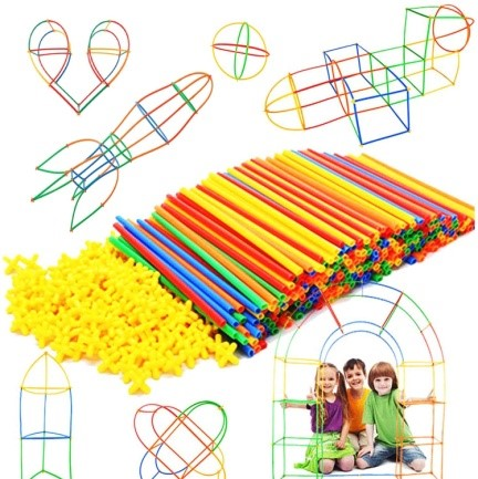 Straw Constructor STEM Building Toys