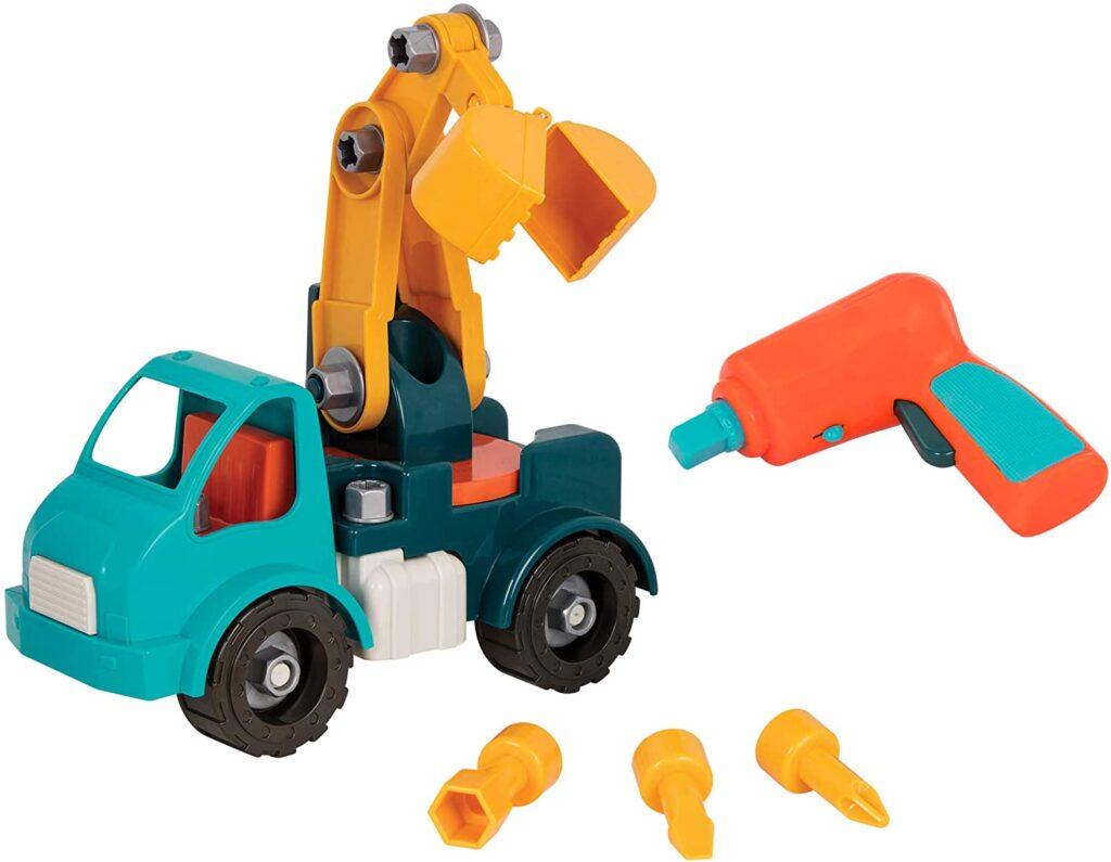 Take-Apart Crane Toy