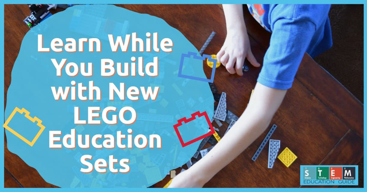 Learn While You Build with New LEGO Education Sets